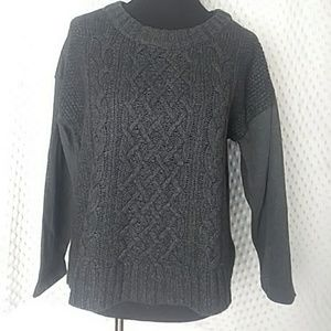 Ann Taylor Loft Size Large Gray Sweater